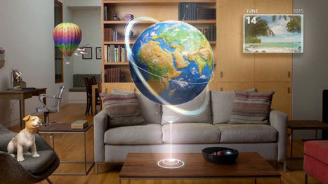 HoloLens Lets You See Realistic 3D People in Your Living Room | Augmented Reality | Scoop.it