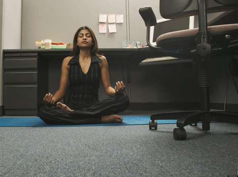 Stressed At Your Desk? 4 Mental Exercises To Practice At Work | Better being, Better living | Scoop.it