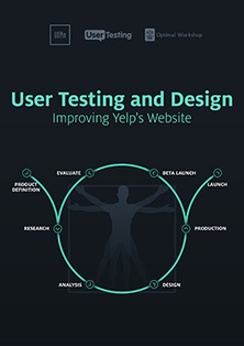 User Testing & Design: Improving Yelp's Website - free e-book by @uxpin @usertesting @optimalworkshop #ui #ux #design | UX-UI design | Scoop.it
