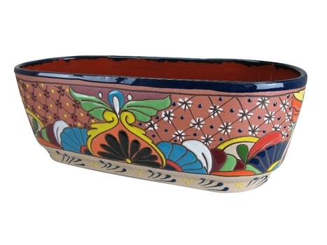 Hand Painted Clay Canoe Pot | Home Decor | Scoop.it