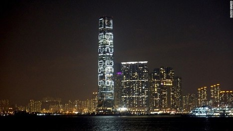 Bold message on Hong Kong's tallest building | D_sign | Scoop.it