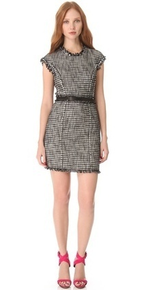 Rebecca Taylor Tweed Shift Dress | Shoes, handbags, accessories, latest trends, fashion designers | All around fashion | Scoop.it