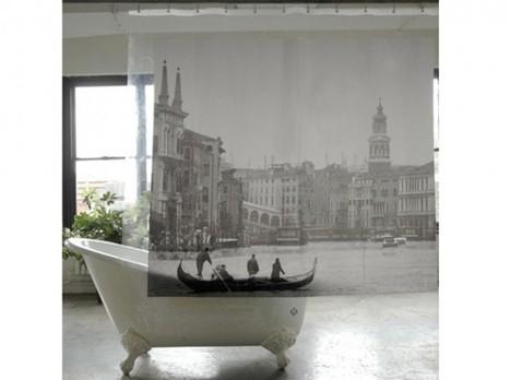 [Déco] 20 rideaux de douche pour salle de bains | décoration & déco | Scoop.it