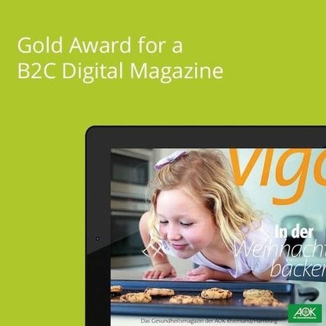 Gold Award for B2C Digital Magazine, AOK Germany with a little helping hand from the Aquafadas tools - Aquafadas - Blog | Presse Mobile et Livres Numériques | Scoop.it