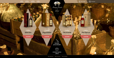 Site eCommerce Armagnac Paradise pour Armagnac Delord | Création sites internet Drupal & Magento made in Gers - Toulouse | Scoop.it
