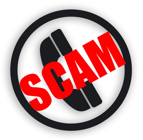 """Sharp Rise in Phone Scams"" 