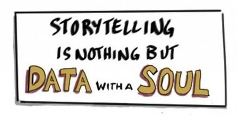 """Storytelling Is Nothing But Data With A Soul,"" From The Data Visualization Summit 2014VizWorld.com 