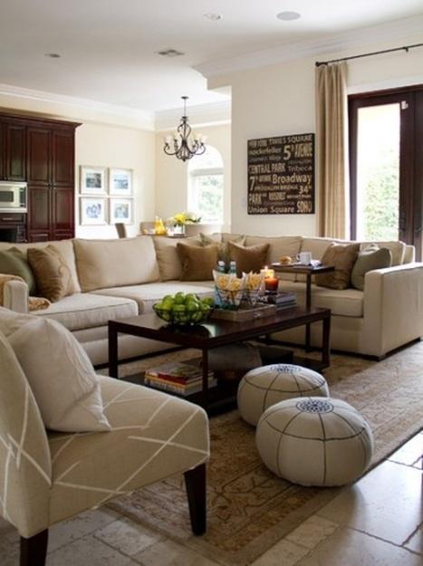 "Interior Design - Beige Living Rooms   Alexanian Carpet & Flooring - ""The World at Your Feet"" www.alexanian.com   Scoop.it"