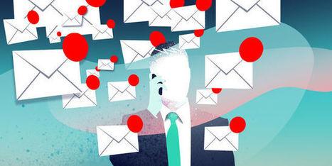 L'abus de mails nuit à la santé | Articles recommandés par Hervé Chuzeville | Scoop.it