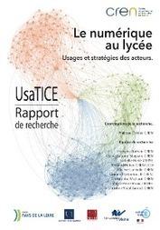 Portail Régional - Environnement numérique de travail - LE NUMERIQUE AU LYCEE | Sociologie du numérique et Humanité technologique | Scoop.it