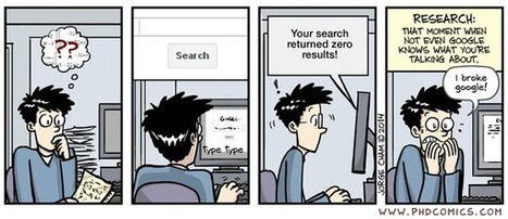 PHD Comics: That Moment. | CME-CPD | Scoop.it