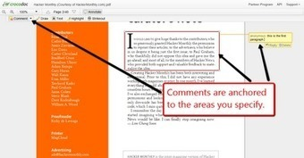 Free Technology for Teachers: Try Crocodoc for Collaboratively Annotating PDFs | E-apprentissage | Scoop.it