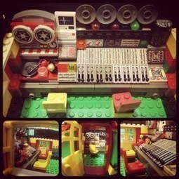 "Black Ark in Lego: Lee ""Scratch"" Perry's Famed Studio Recreated 