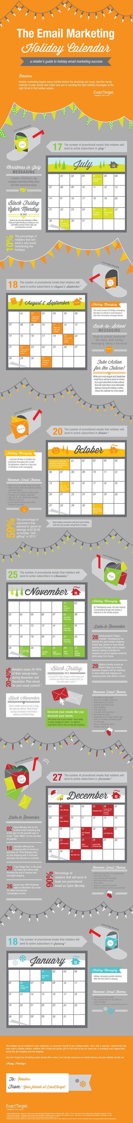 Holidays In August: A Holiday Email Marketing Schedule [Infographic] | Mailing | Scoop.it
