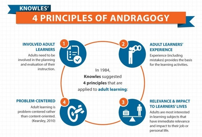 Andragogy - an Adult Learning Theory is Visuall...