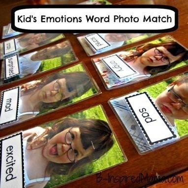 DIY Kids Emotions Game   Libre décole et ateliers l envol créatifs culturels   Scoop.it
