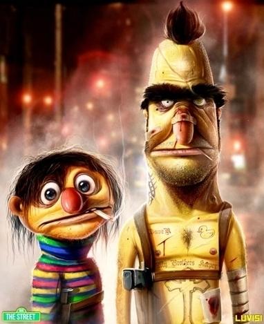 Ilustraciones realistas de personajes | design | Scoop.it
