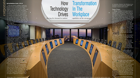 How Technology Drives Transformation in the Workplace | Matthew Ezold | Entretiens Professionnels | Scoop.it