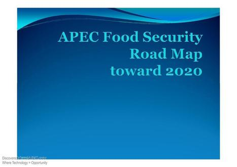 Food Security Road Map, Business   study   Scoop.it