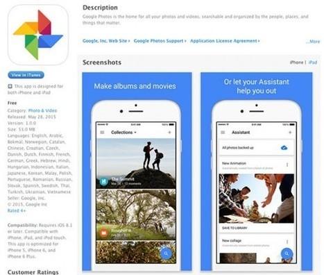 Google Fotos, el almacén infinito y gratuito para tus fotos | Clipset | Educacion, ecologia y TIC | Scoop.it