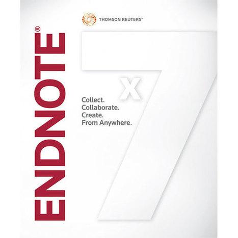 Manual básico de EndNote: gestor de referencias bibliográficas | Las Tics y las ciencias de la informacion | Scoop.it