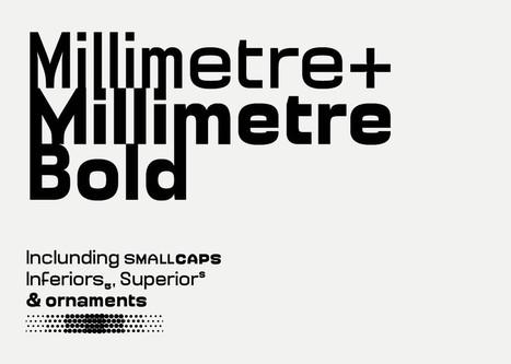 Jérémy Landes nous livre le process de sa dernière typographie Millimètre | Typographie, Mise en page et ce qui m'intéresse | Scoop.it