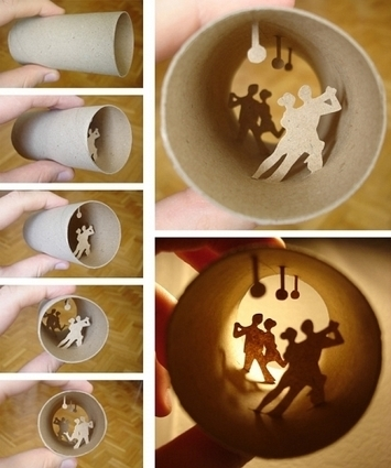 Toilet Roll Art - www.darrenbarnard.co.za | Awesome Blogs | Scoop.it