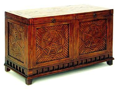 36 in. Wide Bamboo Parquet Blanket Trunk | Personal | Scoop.it