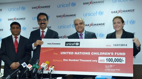 UAE Exchange partners UNICEF for the underprivileged children | UAE Exchange | Scoop.it