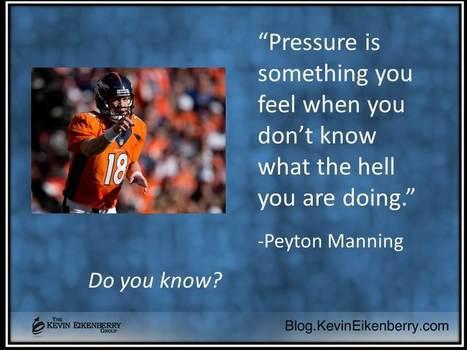 Feeling Pressure?  Here's Why | Coaching Leaders | Scoop.it
