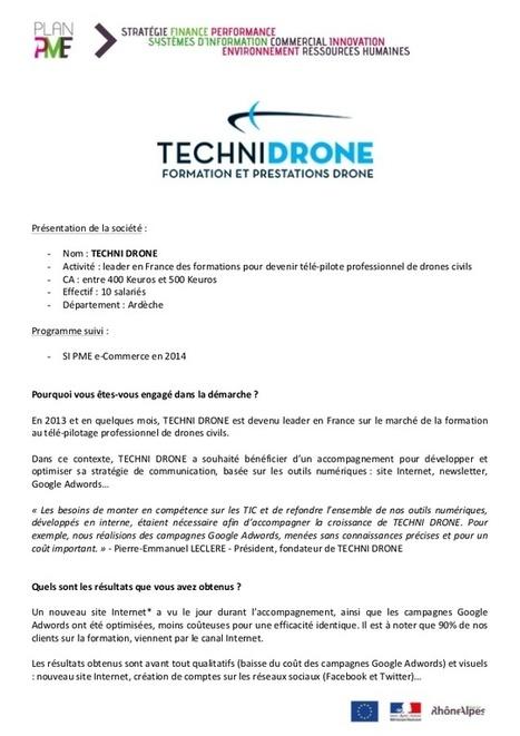 Témoignage SI PME e-Commerce | SI mon projet TIC | Scoop.it