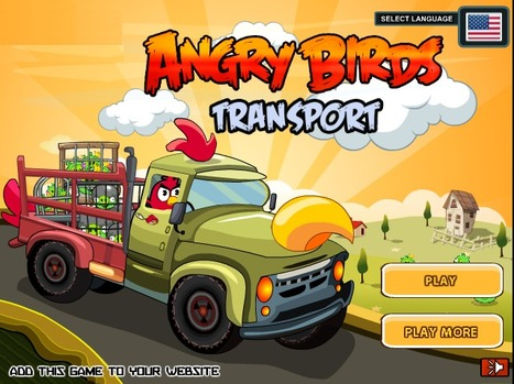 Angry Birds Transport | Best Cartoon Games | Scoop.it
