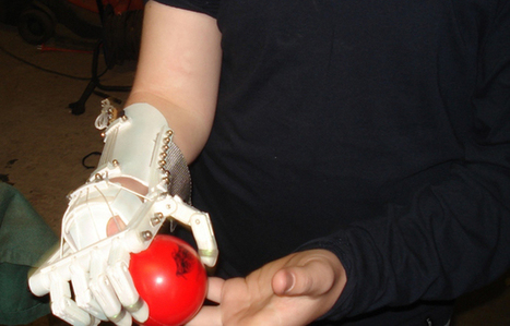 Open Source Prosthetic Hand Can Be 3D Printed For $150 - PSFK | Startup Watch | Scoop.it