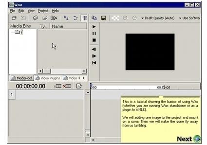 Editer de la vidéo avec Wax | On dit quoi ? | Scoop.it