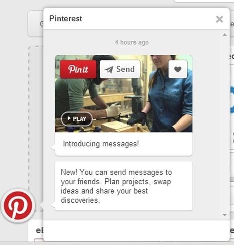 Add new messaging feature of Pinterest into your Pinterest Clone | Pinterest Clone | Pinterest Clone Script | Social Media Script | Scoop.it