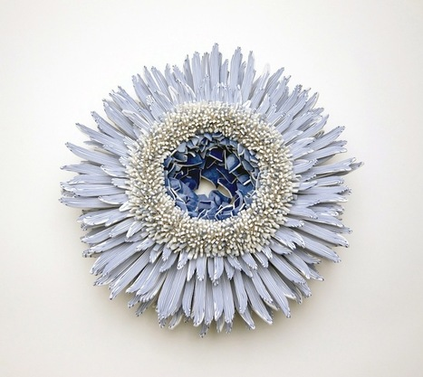 #Forms of #Nature Created from Thousands of #Ceramic #Shards by Zemer Peled. #art #sculpture | Luby Art | Scoop.it