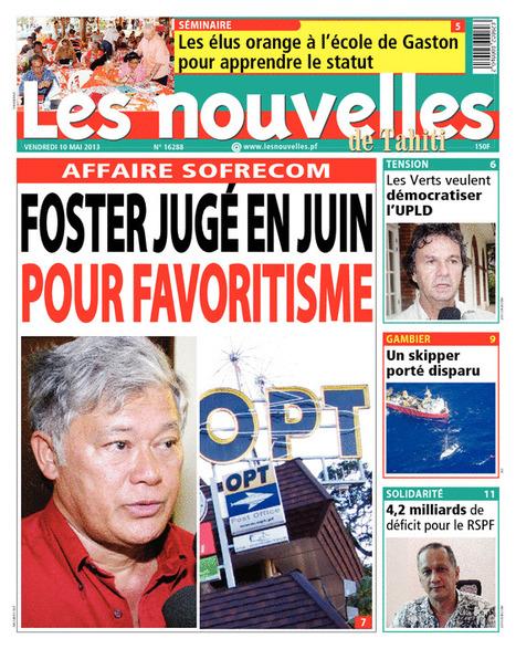 Deux jours de procès pour Foster | Par Antoine Samoyeau | Tahiti nHiu's Presse | Scoop.it