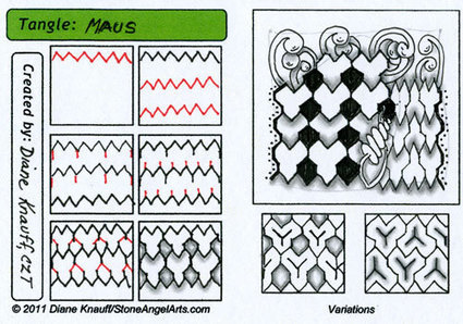 Maus | Artistic Line Designs-all free | Scoop.it