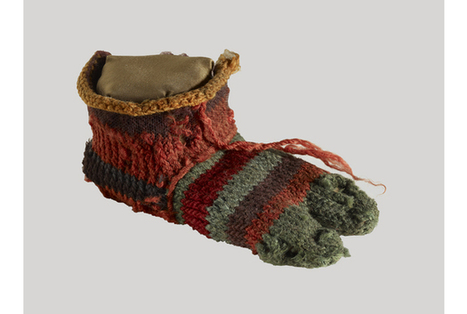 Child's 2,000-year-old sock goes on display   Handcraft - knitting, crocheting, sewing, embroidery   Scoop.it