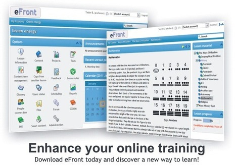 eFront - User Friendly Learning System with Rich Social and Enterprise Functionality | Teaching in the XXI Century | Scoop.it