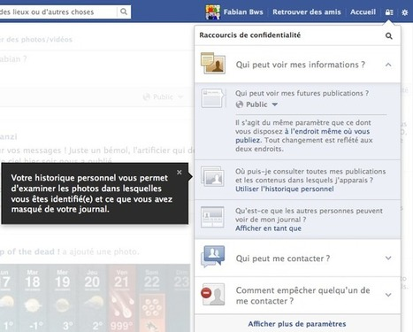 Facebook propose de nouveaux paramètres de confidentialité | Communication publique, marketing territoriale, communication institutionnelle, réseaux sociaux | Scoop.it