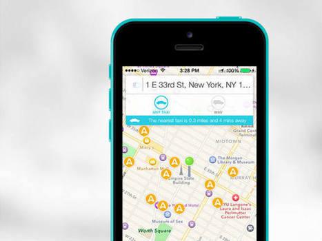 Taxistas de Nueva York crean una aplicación para competir con Uber • ENTER.CO | Bits on | Scoop.it