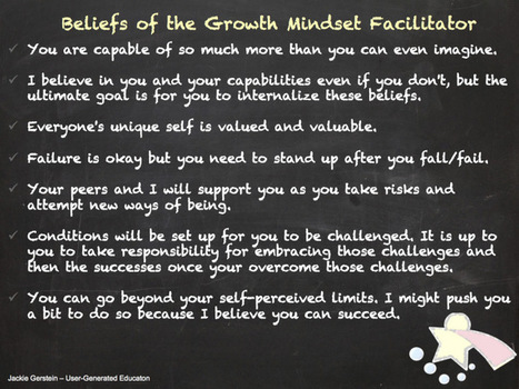 Being a Growth Mindset Facilitator | Teacher Gary | Scoop.it