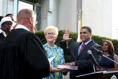 Anthony sworn into office Monday - Morris Daily Herald | Local elected officials | Scoop.it