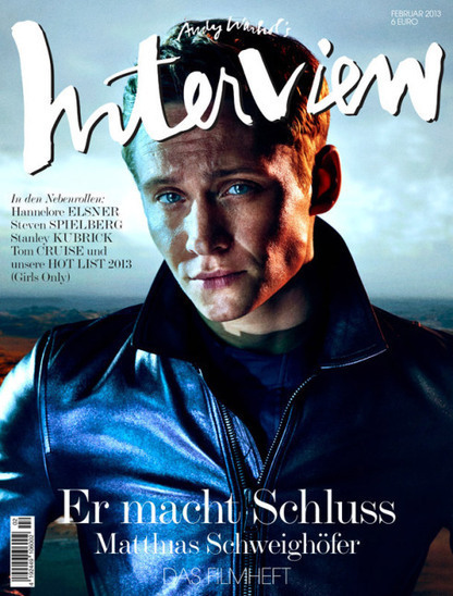 Matthias Schweighöfer captured By Sebastian Mader For Interview Germany | JIMIPARADISE! | Scoop.it