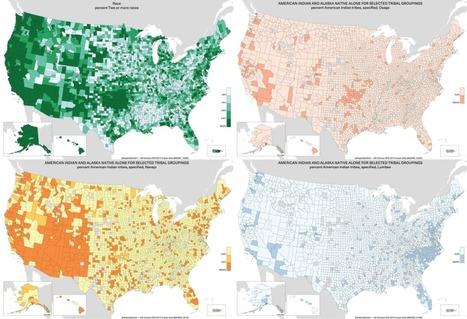 Bot automatically generates maps from American Community Survey data | Capstone: An ESRM Coda | Scoop.it
