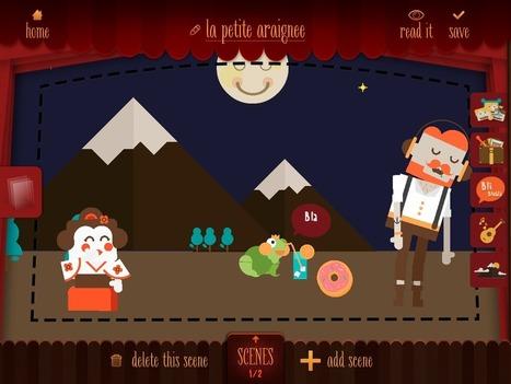 L'app qui transforme vos histoires en théâtre de marionnettes virtuel : My Epic Stories | Ressources Ecole | Scoop.it