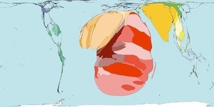 Worldmapper: La mortalité liée au SIDA | Education à la sexualité | Scoop.it