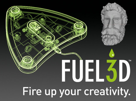 Update 11: Great news regarding stitching! · Fuel3D: A handheld 3D scanner for less than $1000 | Heron | Scoop.it