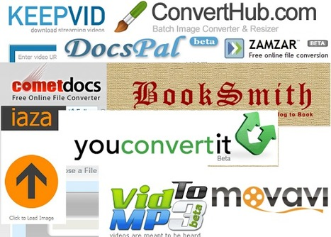 50 Online Tools to Convert Documents and Media Files | Aplicaciones y Herramientas . Software de Diseño | Scoop.it